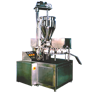 Automatic Double Head Rotary Indexing, Tube Filling Machine - Manual Feed
