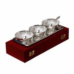 Fancy Silver Bowls