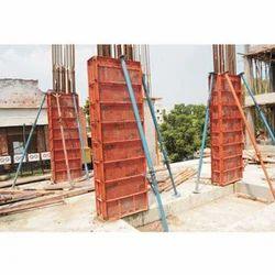 Pillar Shuttering Plates On Hire