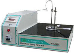Flash Point Testing Apparatus