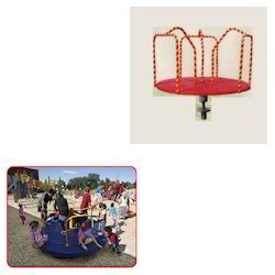 FRP Merry Go-Round for Play School