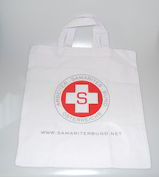 Printed Logo Cotton Bags