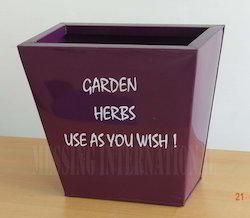 Garden Herbs Bin