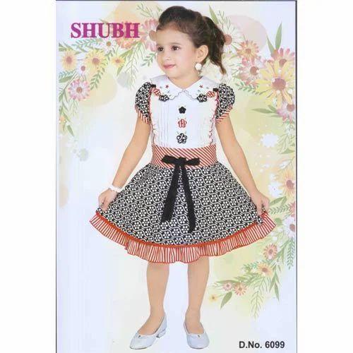 3ad56f74adca Girls Cotton Frocks - Girls Cotton Frock Manufacturer from Mumbai