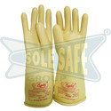 Insulating Electrical Rubber Gloves