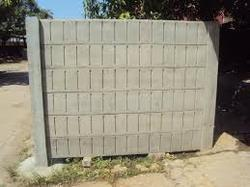 RCC Pre Stress Boundary Wall
