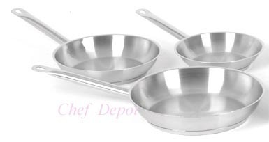 Pot And Pans Wares Induction Fry Pan With Steel Handle