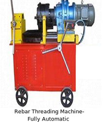 rebar threading machine fully automatic