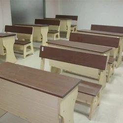 Wooden Double Desk