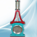 Pulp Valves with Actuator