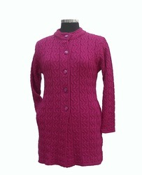 Designer Knitted Coat