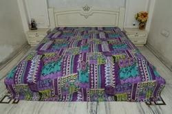 Kantha Cotton New Multi Ekat Bed Cover