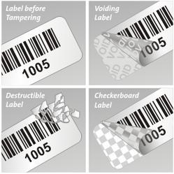 Custom Tamper Evident Labels