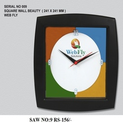 Square Wall Beauty Clock