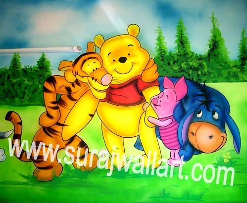 Play School Wall Painting & Kids Room Wall Painting Service Provider ...