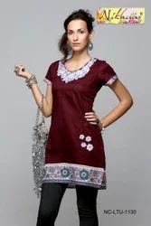 Casual wear Kurti Tunic with Beautiful Design
