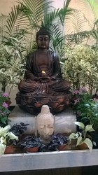 Lotus Buddha Waterfall / Water Fountain