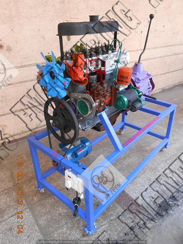 4 Stroke 4 Cylinder Diesel Engine Actual Cut Sections