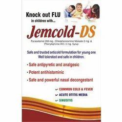 Paracetamol Chlorpheriramine Maleate Jemcold Syrup