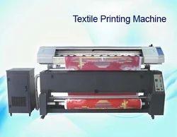 Textile Solvent Printer