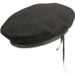 Black Beret Cap