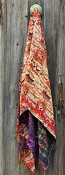Silk Hand Quilted Scarves