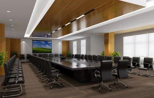 Corporate Interior Designing - Conference Room Interior ...