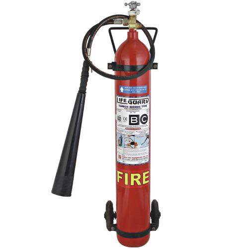 Lifeguard CO2 Trolley Mounted Fire Extinguisher