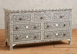 Bone Inlay Sideboard Dresser