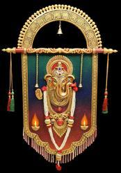 Round Arc Ganesh Face