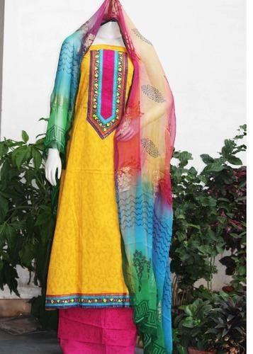 Ladies Suits - Unstitched Ladies Suit Manufacturer from Jaipur