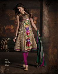 Readymade Suit Embroidered Anarkali