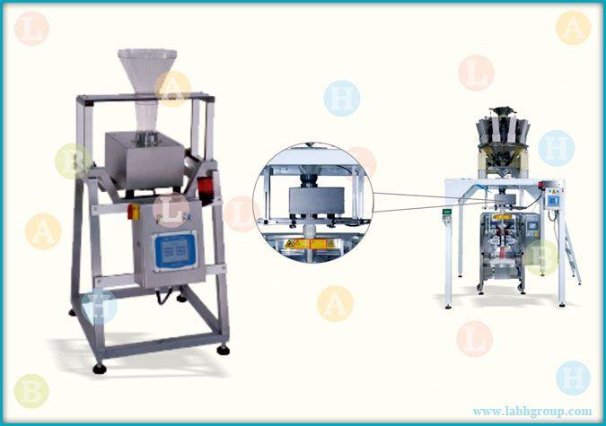 Inline Gravity Metal Detector Equipment