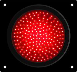 Red LED Traffic Signal