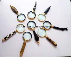 Lot Of Handle Magnifying Glasses