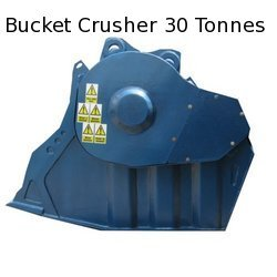 Bucket Crusher for Mining Industries