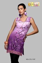 Designer Western Style Ladies Cotton Tunic Kurti