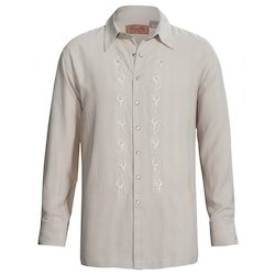 Embroidered Silk Shirts