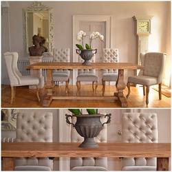Luxury Wooden Dining Table Set
