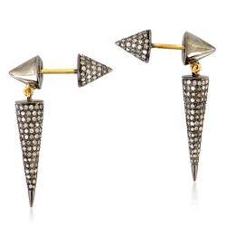 Pave Diamond Jewelry Earring