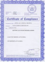 COMPLIANCE CERTIFICATES Services