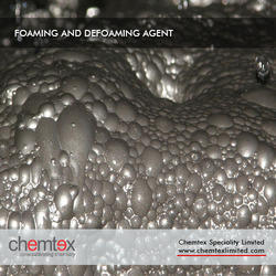 foaming and defoaming agent