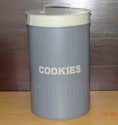 Metal Cookies Box