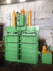 double box double cylinder baling machine