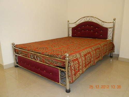 Steel Furniture Bed : Metal Furniture Suppliers Stainless Steel Beds