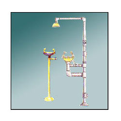 Hand Operated Safety Shower