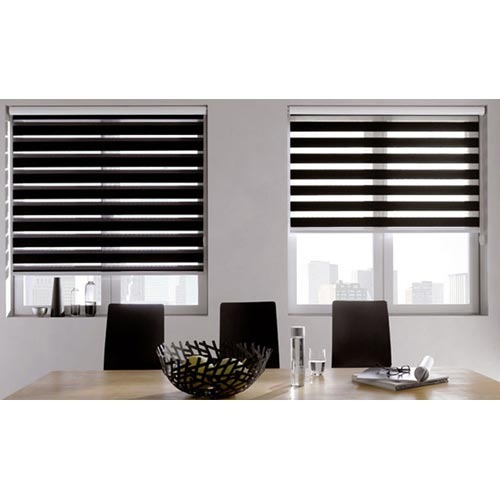 Zebra roller blinds