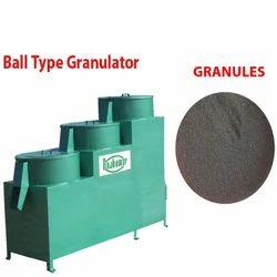 Ball Type Granulator Machine