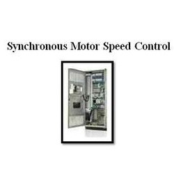 Synchronous motor speed control
