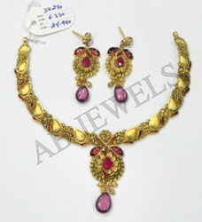 Antique Necklace Gold